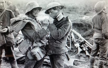 History of the Christmas Truce of 1914: Peace in the WWI Trenches – Bill Petro 4.0