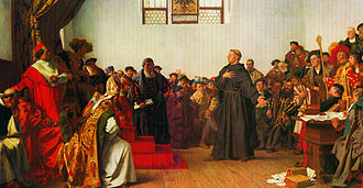 Luther Before Emperor