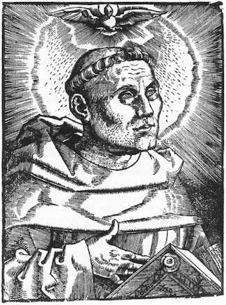 Martin Luther Woodcut