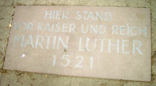 Luther Plaque